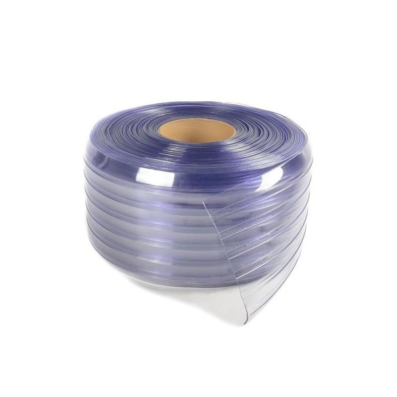 Description : Rideau De Lanières NERVURE Positif En PVC Souple  200mmx2mmx50m, Pas Cher Au Maroc